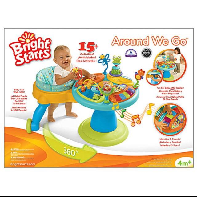 de54d37c39c9 Bright Starts Around We Go 3-in-1 Activity Center
