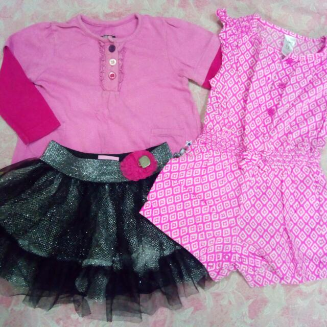 Bundle OOTD OUTFIT 1-2 YRS. OLD