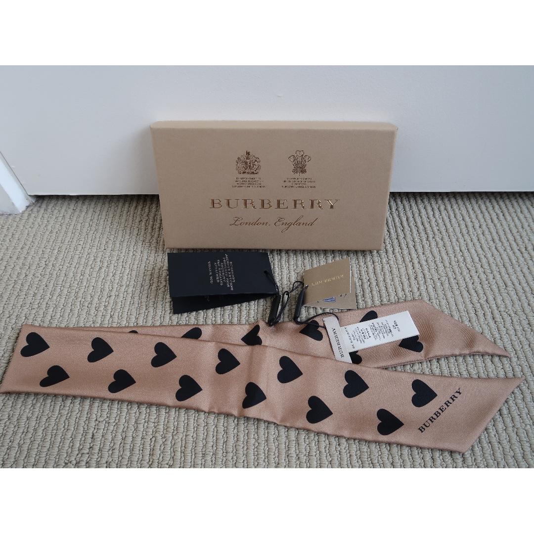 Burberry Silk Slim Scarf