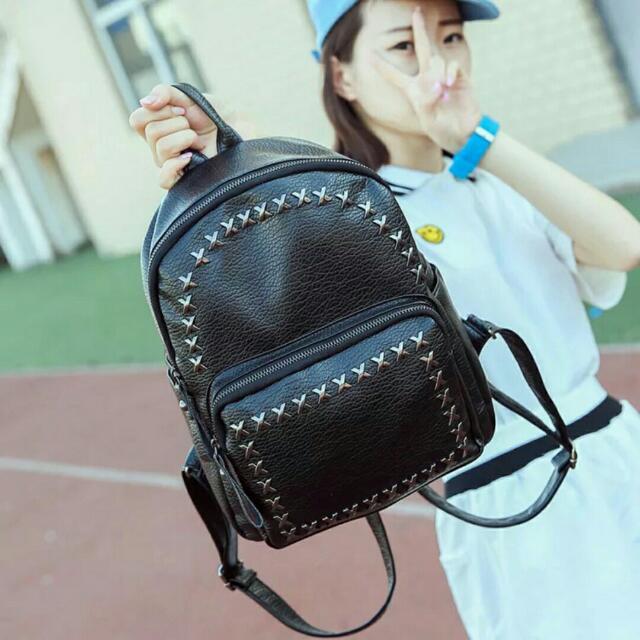 Buy 1 Take 1 Korean Leather Backpack