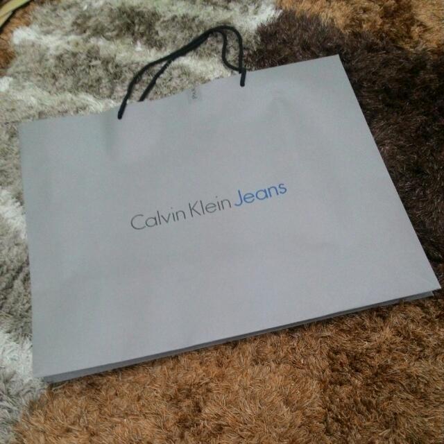 Calvin Klein Jeans Paperbeg
