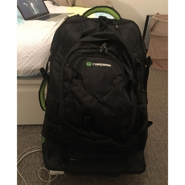Caribee 85 Litre Backpack With Wheels
