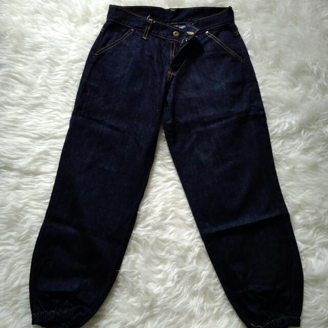 celana jeans joger