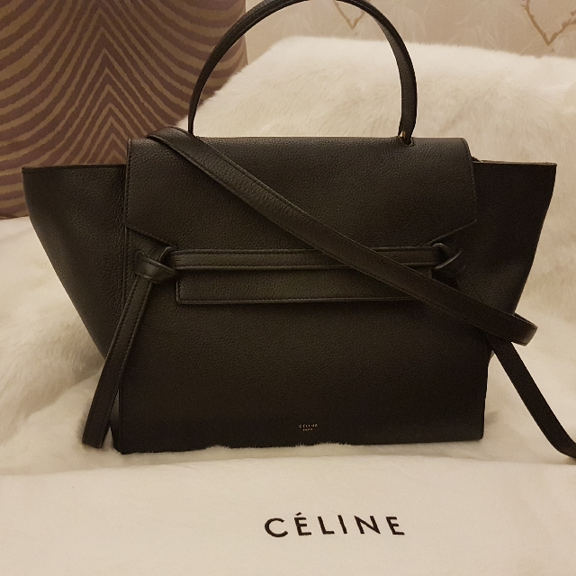 af2d56cfff RARE CELINE Mini Belt Bag (Black)