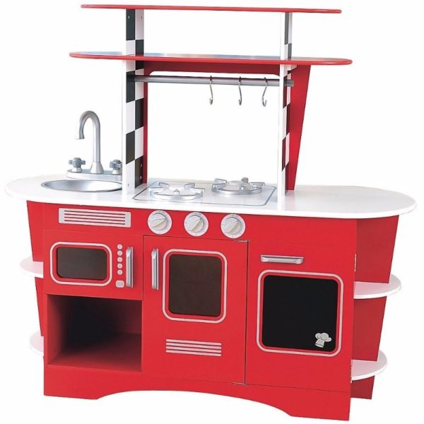 Cheapest In Singapore Elc Toy Kitchen Retro Diner Solid Wood