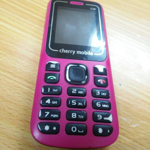 Cherry Mobile Back-up Phone
