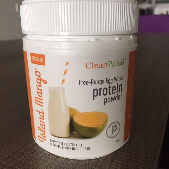 Clean paleo Free range Egg White Protein Powder