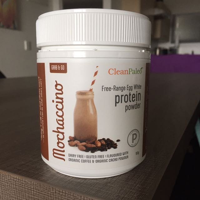 Clean paleo Mocha Protein Powder
