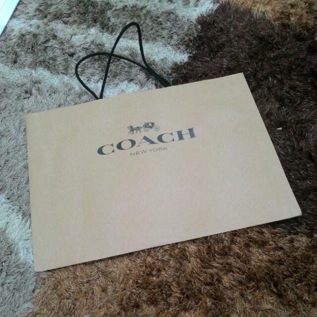 COACH Paperbeg