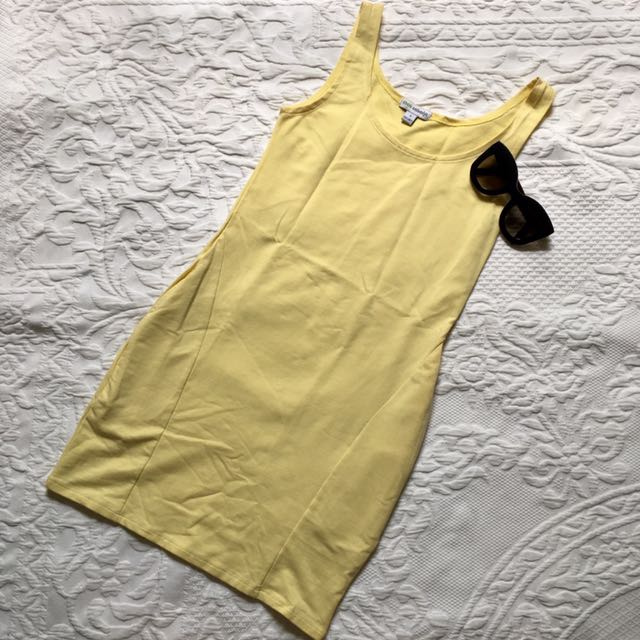 Coco Cabana Soft Daffodil/Yellow Dress w/ Pockets