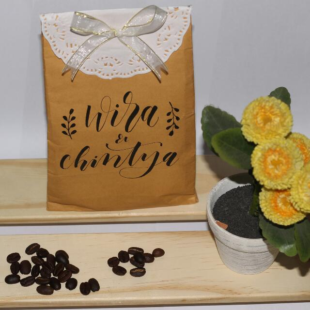 Coffee For Wedding Souvenir