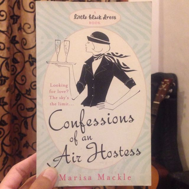 Confessions Of An Air Hostess By Marisa Mackle