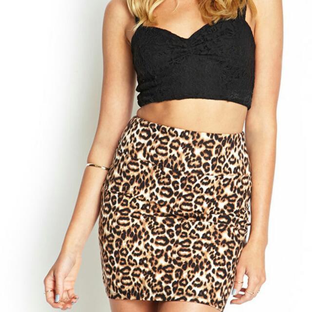 dc27050acdd4e Cotton On Leopard Print Bodycon Skirt #PayDay30, Women's Fashion ...