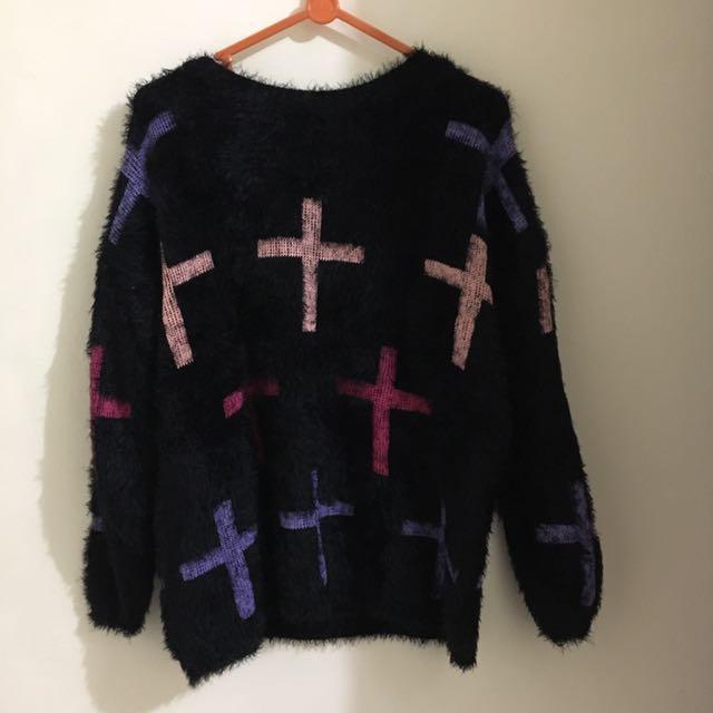 Crossed Sweater