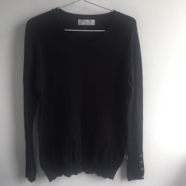 Dixie Black Sweater