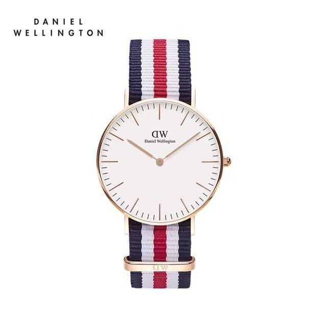 專櫃貨。dw手錶 保證正品 可以驗貨不正包退 Dw手錶 尼龍 40/36. 皮帶 錶帶 Dw錶 石英手錶 男錶 女錶 男款 女錶。文青 手錶