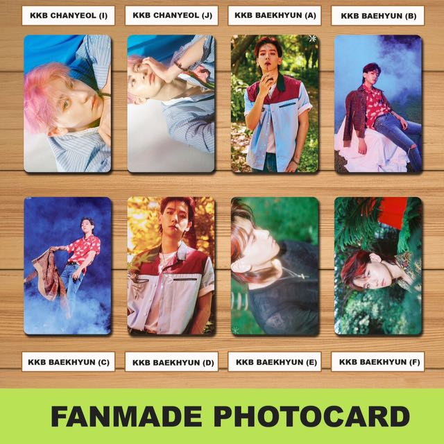 Exo Fanmade Photocards Set 1