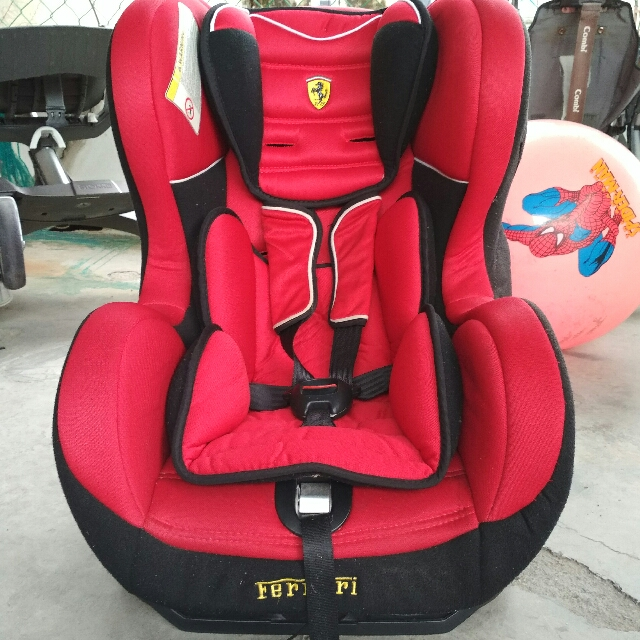 Ferrari Car Seat Babies Kids Strollers Bags Carriers On Carousell