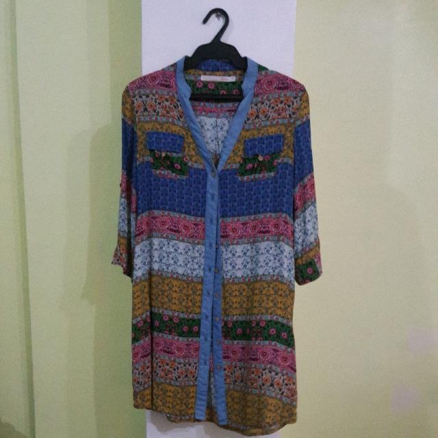 Floral Polo Dress