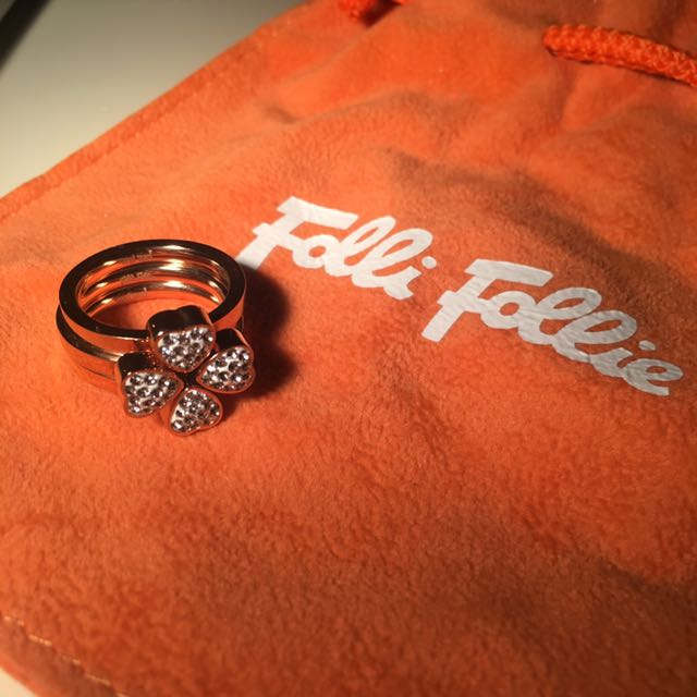 Folli Follie Clover Stack Rings