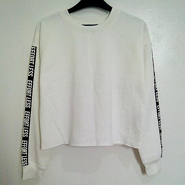 REPRICED Forever21 Crop Sweatshirt