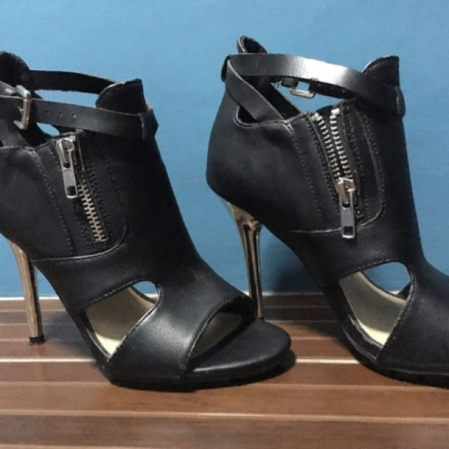 Forever 21 Leather Heels