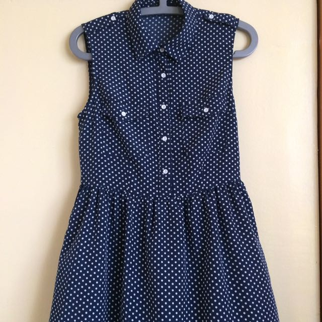 Forever 21 Polka Dots Dress
