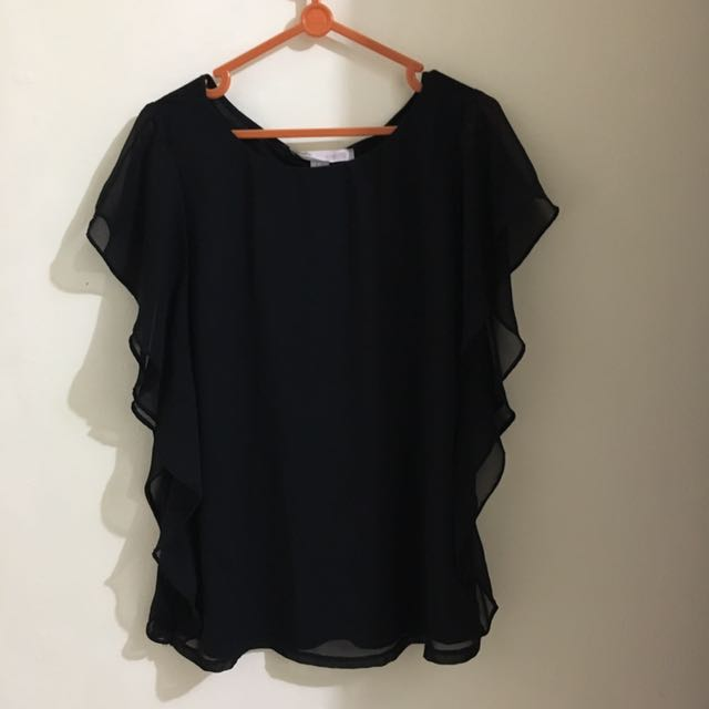 Forever 21 Ruffle Shirt