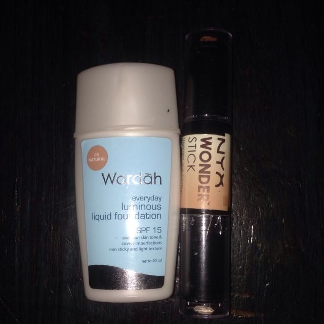 Foundation Wardah & NYX Wonder Stick