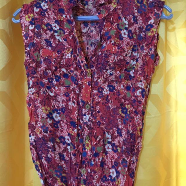 GARTERIZED blouse