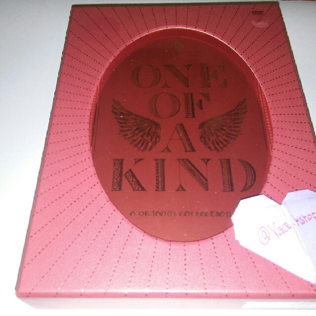G-Dragon One Of A Kind Making Collection Full Set!!!
