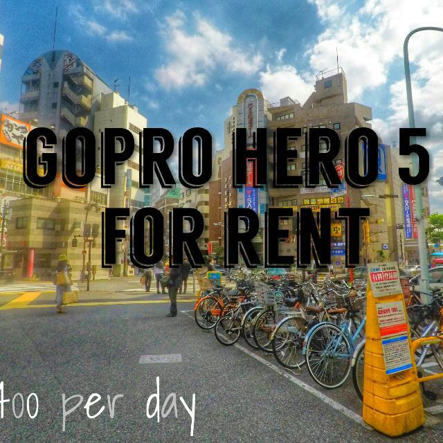 GoPro Hero5 For Rent