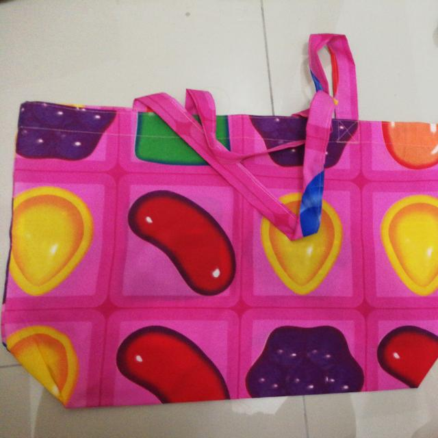 Candycrush Grocery Bag