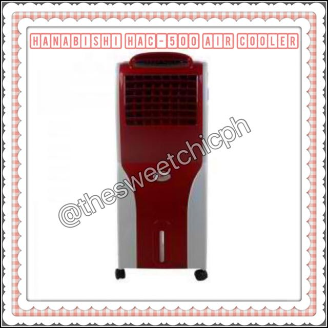 Hanabishi HAC-500 Air Cooler (Red)