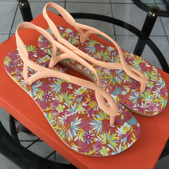 AUTHENTIC Havaianas x Liberty Sandals