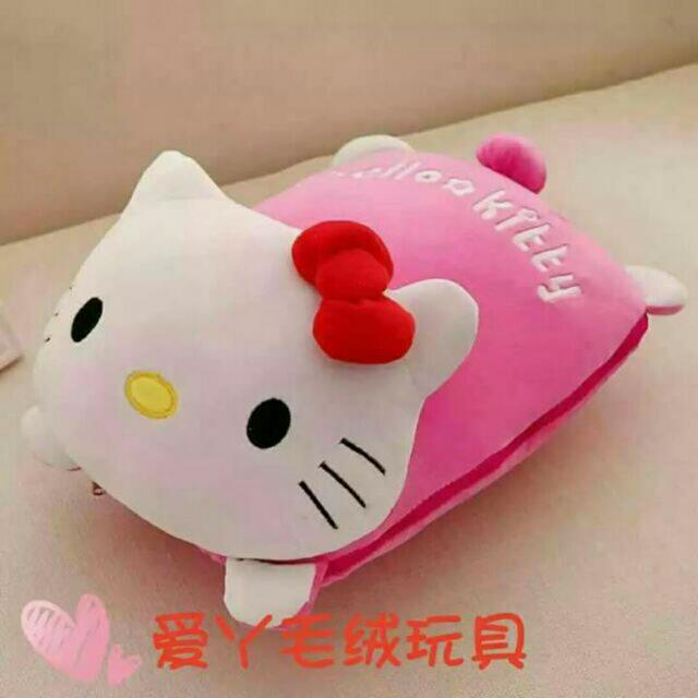 HELLO KITTY 2in1 PILLOW BLANKET