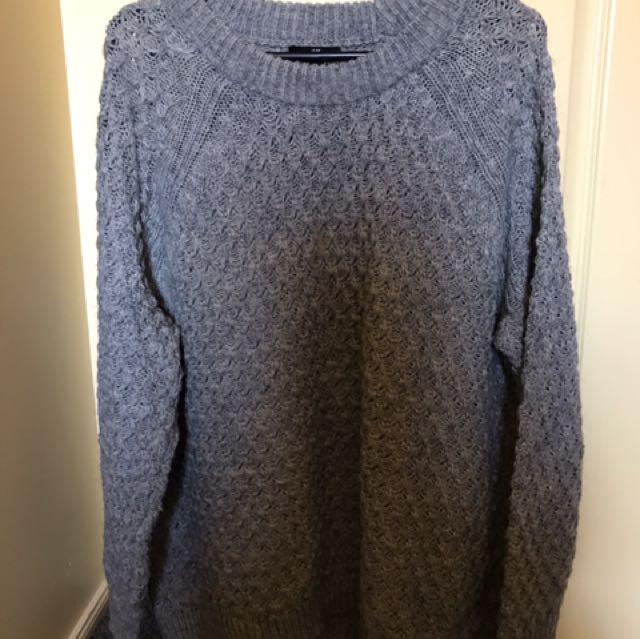 H&M Grey Knit