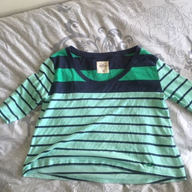 Hollister Green And Blue Size XS