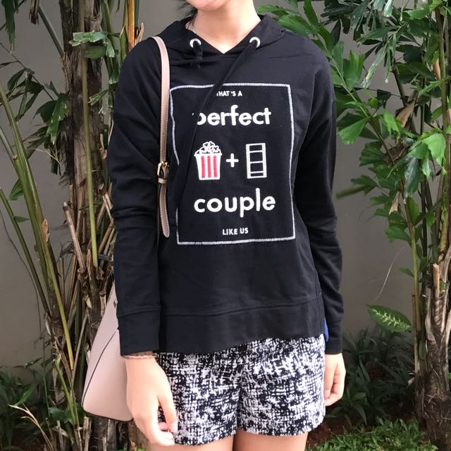 Hoodie Perfect Couple Bershka
