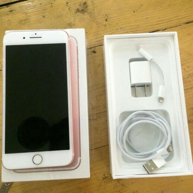 iPhone 7 Plus 128gb Rose Gold Second Rasa Baru