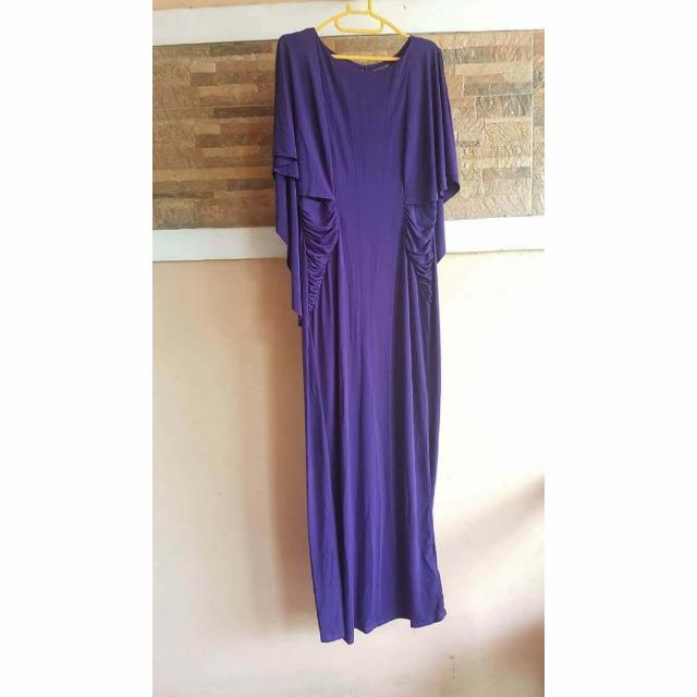 Karimadon Purple Long Gown