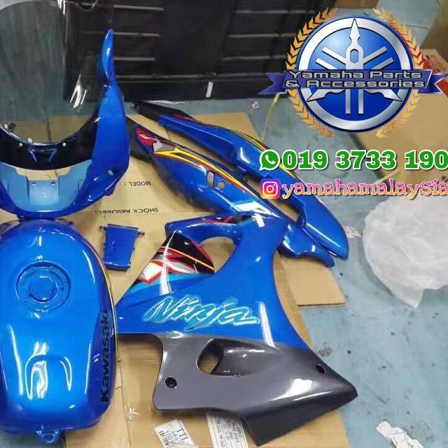 Wiring Diagram Kawasaki Ninja 150 Rr : Kawasaki zx rr oem coverset motorbikes on carousell