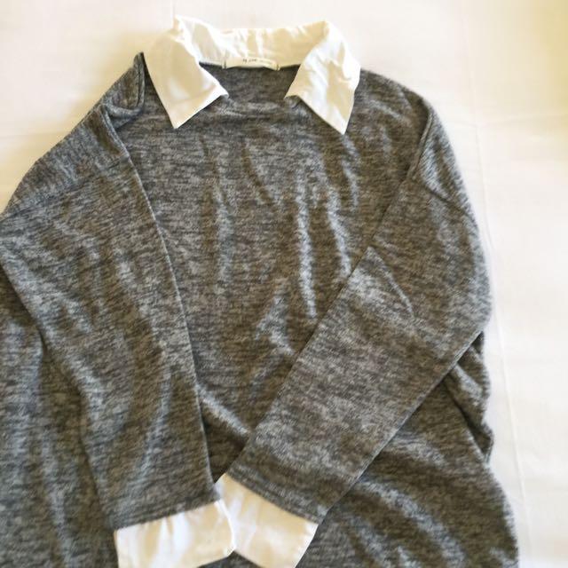 Kemeja sweatshirt