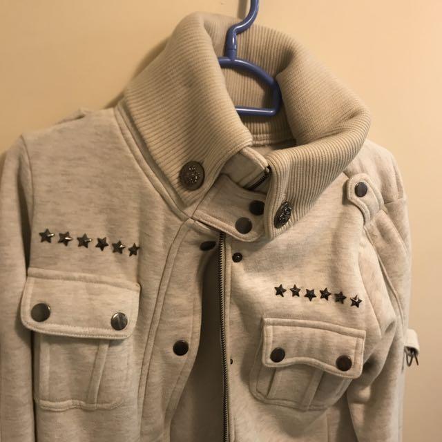 Light Beige Winter Jacket