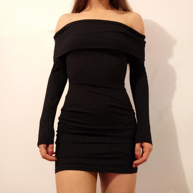Long Sleeve Mini Dress Size 8