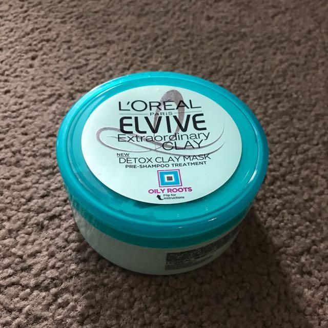 L'Oréal Elvive Extraordinary Clay Pre Wash Mask