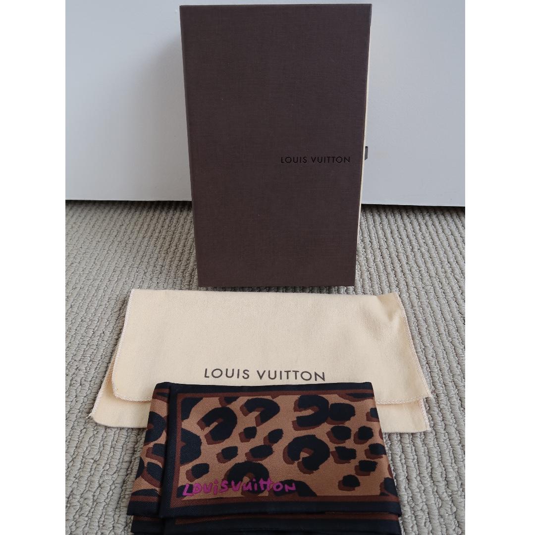 Louis Vuitton Leopard Bandeau