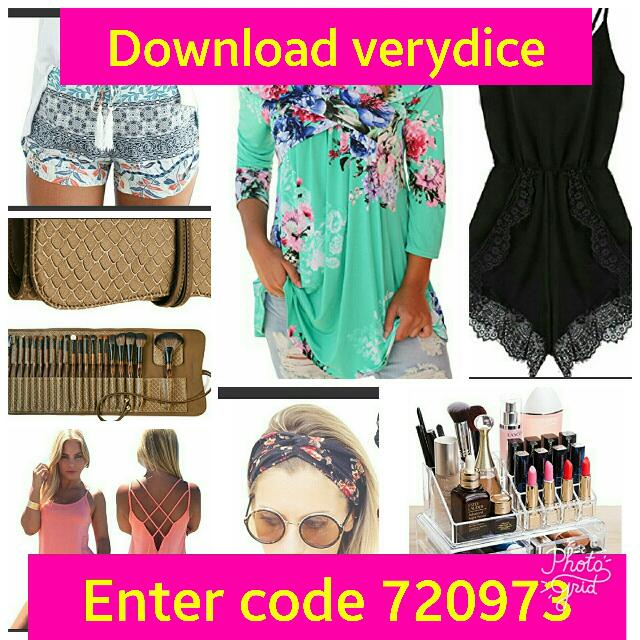 Make Up, Clothes, Hair Accessories Etc