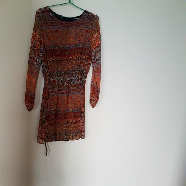 Mango Bohemian Dress