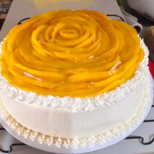 Mango Cake With Cream cheese or buttercream Frosting